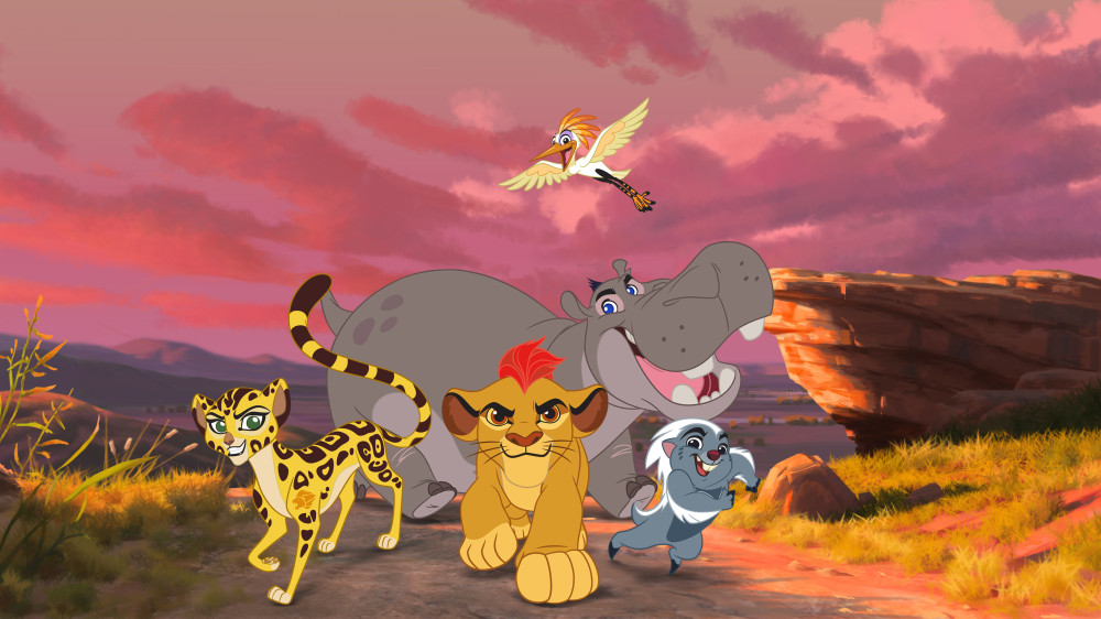 The Lion Guard cast
